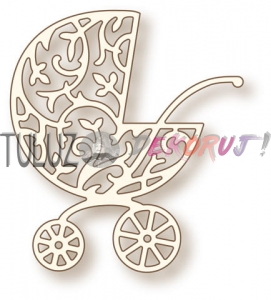 Wykrojnik WRS SD040 Ornate Pram