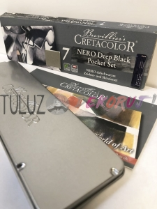 Nero Pocket Set Cretacolor 7szt