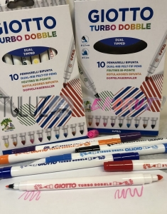 Pisaki Giotto turbo dobble 10 szt