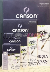 Blok Mix-Media 200g/m2 50ark Imagine Canson