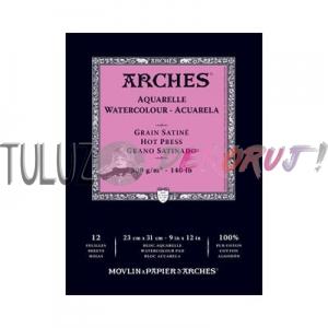 Blok Arches Grain Satine 23x31 cm, 300g, 12 ark