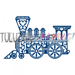Wykrojniki Tattered Lace-Vintage Train  D693