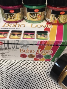 Maya gold boho love zestaw  4x50ml