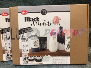 Kreativ Black&White zestaw Viva Decor
